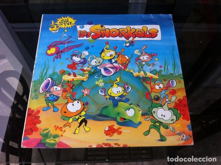 LOS SNORKELS (LP) 1986, ESPAÑA (Música - Discos - LP Vinilo - Otros estilos)