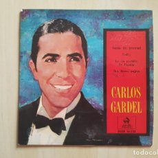 Discos de vinilo: CARLOS GARDEL - SUEÑO DE JUVENTUD - SINGLE - VINILO - EMI - 1958. Lote 164837686