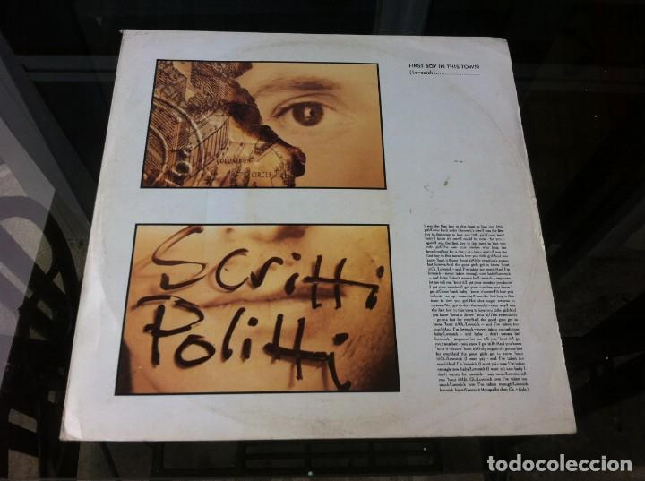 MAXI SINGLE. SCRITTI POLITTI. FIRST BOY IN THIS TOWN. 1988 (Música - Discos - LP Vinilo - Otros estilos)