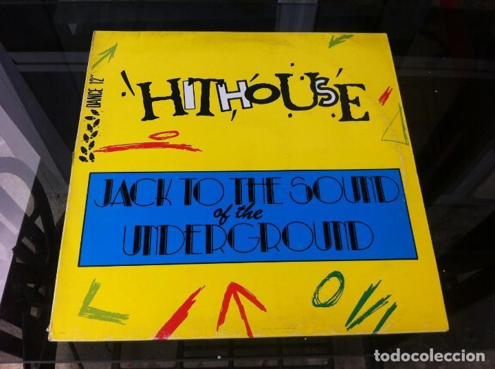 MAXI SINGLE. HITHOUSE. JACK TO THE SOUND OF THE UNDERGROUND. 1988, ESPAÑA (Música - Discos - LP Vinilo - Otros estilos)