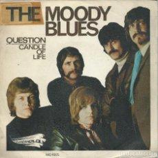 Discos de vinil: THE MOODY BLUES, QUESTION. (THRESHOLD,1970). Lote 164839266