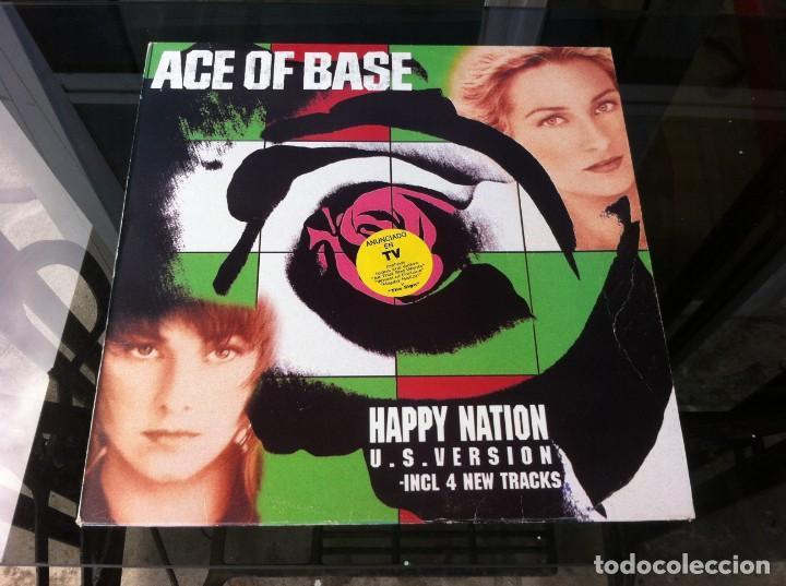 ACE OF BASE. HAPPY NATION. (LP) 1994, ESPAÑA (Música - Discos - LP Vinilo - Otros estilos)