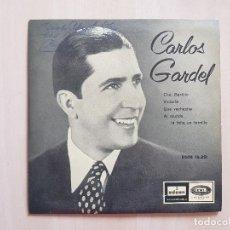 Discos de vinilo: CARLOS GARDEL - CHE , BARTOLO - SINGLE - VINILO - EMI - 1958. Lote 164841078