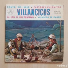 Discos de vinilo: VILLANCICOS - CANTA, RIE, BEBE - SINGLE - VINILO - LA VOZ DE SU AMO - 1958. Lote 164843246
