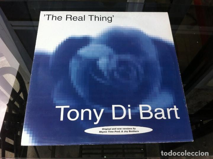 MAXI SINGLE. TONY DI BART. THE REAL THING. 1994, ESPAÑA (Música - Discos - LP Vinilo - Otros estilos)