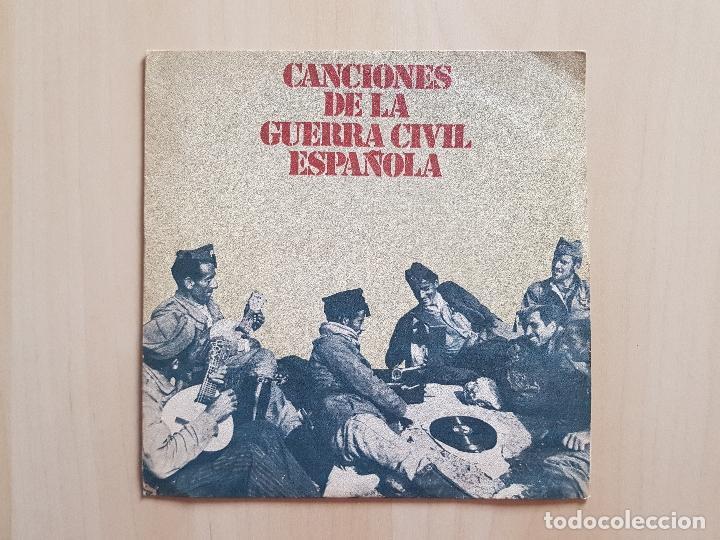 CANCIONES DE LA GUERRA CIVIL - SINGLE - VINILO - DIAL - 1978 (Música - Discos - Singles Vinilo - Otros estilos)