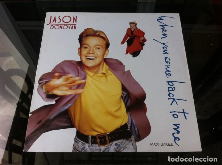 MAXI SINGLE. JASON DONOVAN. WHEN YOU COME BACK TO ME. 1989, ESPAÑA (Música - Discos - LP Vinilo - Otros estilos)