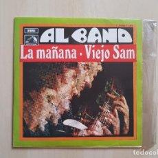 Discos de vinilo: AL BANO Y ROMINA POWER - LA MAÑANA - VIEJO SAM - SINGLE - VINILO - EMI - 1969. Lote 164846046