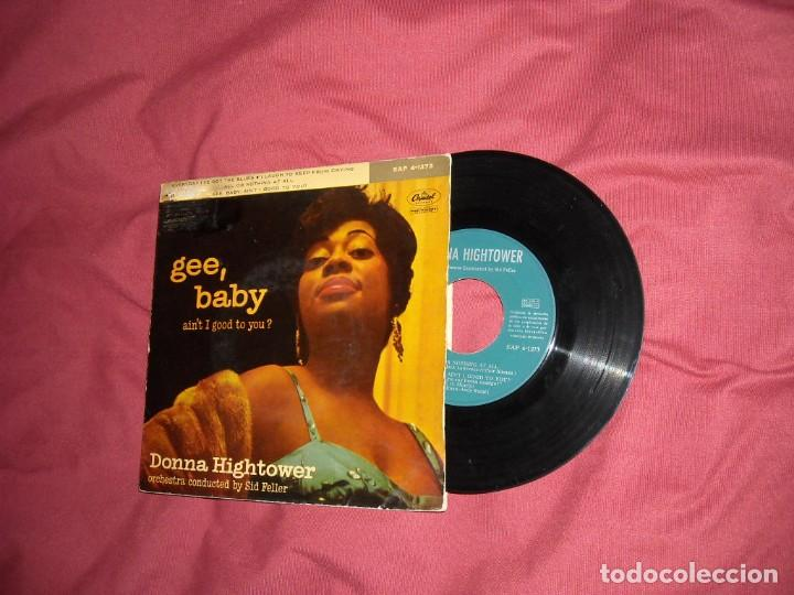 DONNA HIGHTOWER EP EVERYDAY I´VE GOT THE BLUES + 3 TEMAS 1960 CAPITOL SPA (Música - Discos de Vinilo - EPs - Jazz, Jazz-Rock, Blues y R&B)
