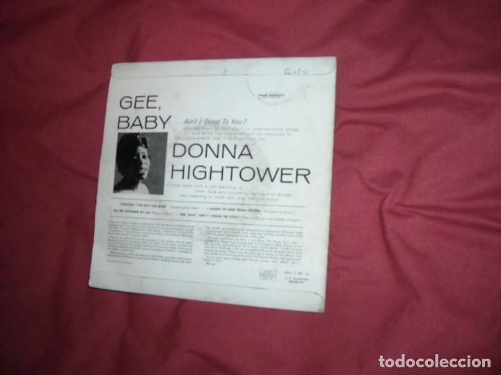 Discos de vinilo: DONNA HIGHTOWER Ep Everyday i´ve got the blues + 3 temas 1960 capitol spa - Foto 2 - 164846326