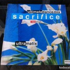 Vinyl-Schallplatten - MAXI SINGLE. ULTRAMATIX. SACRIFICE. 1990, SPAIN - 164847126