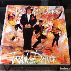 Discos de vinilo: MAXI SINGLE. TRANCE DANCE. DO THE DANCE. 1986, SPAIN. Lote 164847430