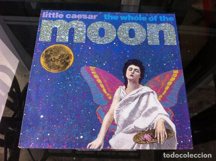 MAXI SINGLE. LITTLE CAESAR. THE WHOLE OF THE MOON 1990, SPAIN (Música - Discos - LP Vinilo - Otros estilos)