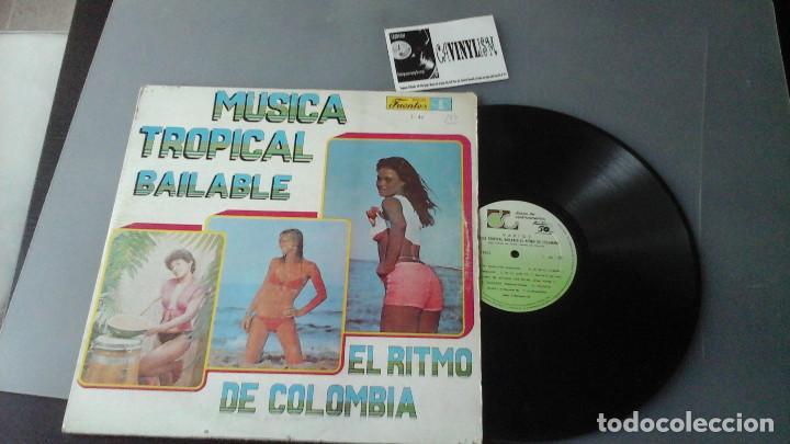 MÚSICA TROPICAL BAILABLE - EL RITMO DE COLOMBIA - SONORA DINAMITA, AFROSOUND, SONORA DEL CARIBE..... (Música - Discos de Vinilo - Maxi Singles - Grupos y Solistas de latinoamérica)