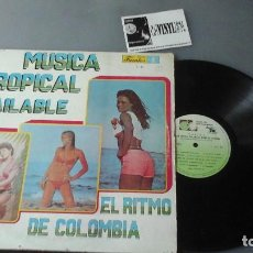 Discos de vinilo: MÚSICA TROPICAL BAILABLE - EL RITMO DE COLOMBIA - SONORA DINAMITA, AFROSOUND, SONORA DEL CARIBE...... Lote 164852034