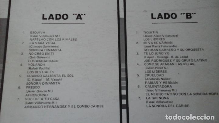 Discos de vinilo: Música Tropical Bailable - El Ritmo de Colombia - Sonora Dinamita, Afrosound, Sonora del Caribe..... - Foto 3 - 164852034