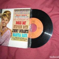 Discos de vinilo: DORIS DAY EP 1963 ESP DE LA PELICULA DUMBO L.HART R.RODGERS. Lote 164852626