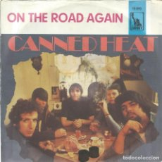 Discos de vinilo: CANNED HEAT, ON THE ROAD AGAIN. (LIBERTY) -ALEMAN-. Lote 171807914