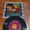 Discos de vinilo: 1958-DISCO DE VINILO CANCIONES INFANTILES LAS PULGUITAS. Lote 164854958