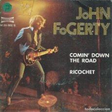 Discos de vinil: JOHN FOGERTY, COMIN' DOWN THE ROAD. (FANTASY,1974). Lote 164856438