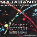 Discos de vinilo: MAJABAND - INTRODUCING POLICE HITS - ROXANNE / THE POLICE - SINGLE CBS 1983 SPAIN. Lote 164858542