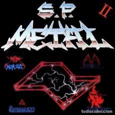 Discos de vinilo: VV.AA. [KORZUS, SANTUÁRIO, ABUTRE & PERFORMANCES] - S.P. METAL II - LP [SVART, 2016] HEAVY METAL. Lote 164869082