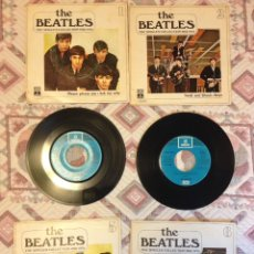 Discos de vinilo: BEATLES - LOTE DE THE SINGLES COLLECTION. Lote 164874548