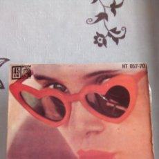 Discos de vinilo: LOLITA.STANLEY KUBRICK.RARO EP 45 RPM.BANDA SONORA.HISPAVOX. UNICO EN TC!!!. Lote 164885302