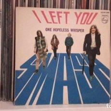 Discos de vinilo: SMASH - I LEFT YOU. Lote 191736398