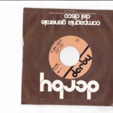 Discos de vinilo: HOAGS LAND IO NO VOLEVO COVER STANDARD DERBY TI CREDO DERBY LABEL SANREMO 65 RARO. Lote 164893990
