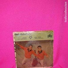 Discos de vinilo: DUO DINAMICO, ROGAR, BYE BYE LOVE, BABY ROCK, LINDA MUÑECA, LA VOZ DE SU AMO,1959.. Lote 164906410