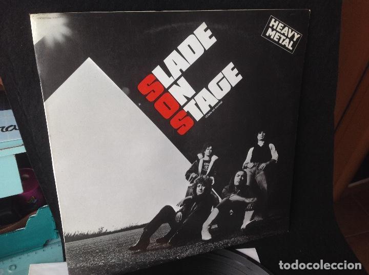 SLADE ON STAGE -SLADE EN ESCENA 1983 RCA ESPAÑA (Música - Discos - LP Vinilo - Heavy - Metal)