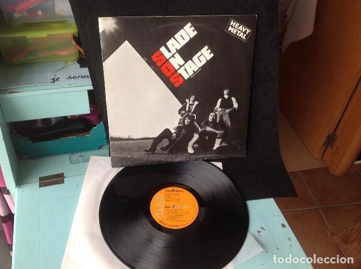 Discos de vinilo: Slade on stage -SLADE EN ESCENA 1983 RCA ESPAÑA - Foto 2 - 164906598