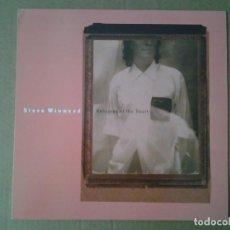Discos de vinilo: STEVE WINWOOD - REFUGEES OF THE HEART- LP VIRGIN 1990 ED. AMERICANA 91405-1 MUY BUENAS CONDICIONES.. Lote 164908942