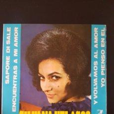 Discos de vinilo: SILVANA VELASCO SAPORE DI SALE SI ENCUENTRAS A MI AMOR Y VOLVAMOS AL AMOR 45 RPM ZAFIRO 1964 SYLVANA. Lote 164911198