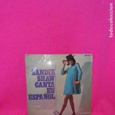 Discos de vinilo: EUROVISION 67, SANDIE SHAW CANTA EN ESPAÑOL, MARIONETAS EN LA CUERDA, + 3, PYE.. Lote 164925670