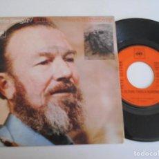 Discos de vinilo: PETE SEEGER-SINGLE EL ULTIMO TREN A NUREMBERG. Lote 164927426