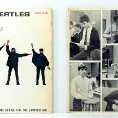 Discos de vinilo: THE BEATLES - HELP! - LOS MUSTANG, CHAO CHAO . Lote 164932934