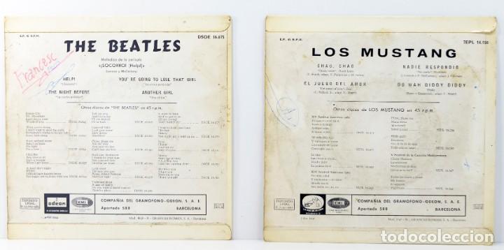 Discos de vinilo: THE BEATLES - HELP! - LOS MUSTANG, CHAO CHAO - Foto 2 - 164932934