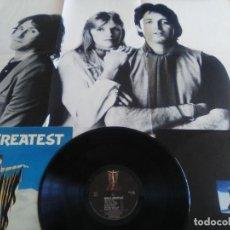 Discos de vinilo: PAUL MCCARTNEY WINGS GREATEST 1978 UK LP ORIGINAL+MARAVILLOSO POSTER+ INSERTO.BEATLES VINYL. Lote 164935370