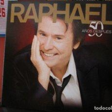 Discos de vinilo: RAPHAEL 50 AÑOS DESPUES // DUETOS CON SERRAT // BUNBURY // ALASKA // ROCIO DURCAL // MIGUEL BOSE. Lote 164938878