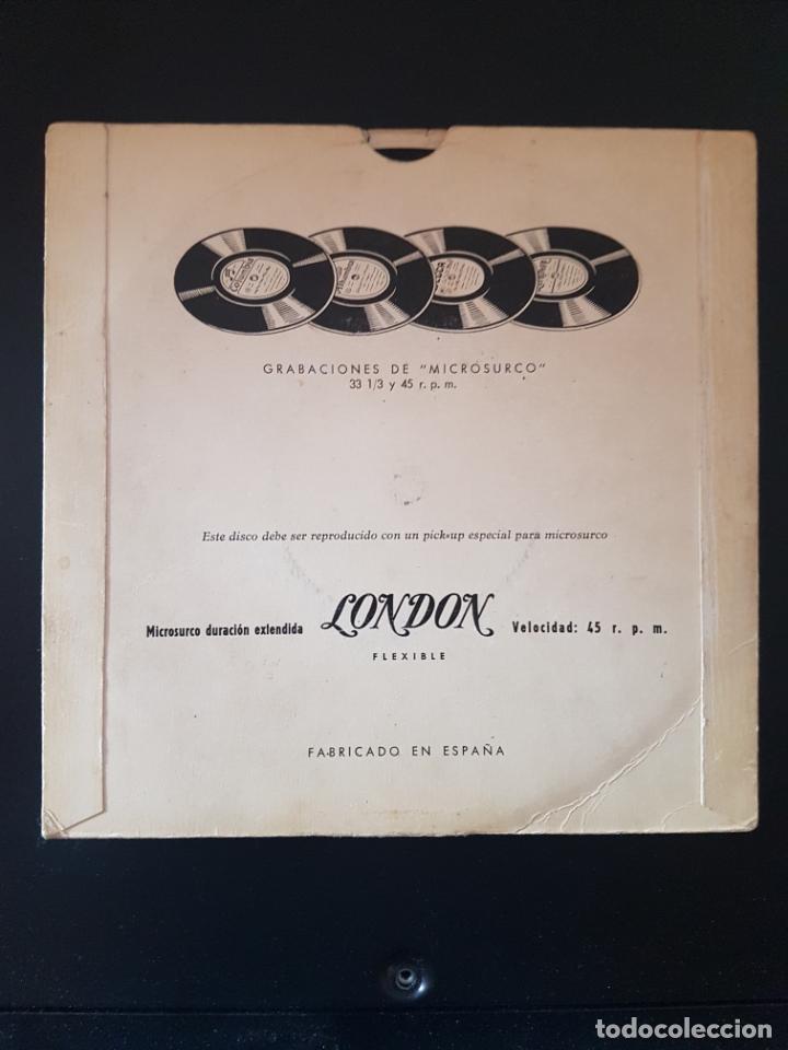 Discos de vinilo: TRIO LOS PANCHOS LONDON VOLO AGUANTA CORAZON PERDON ABANDONADA 45 RPM - Foto 2 - 164942394