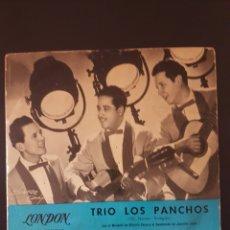 Discos de vinilo: TRIO LOS PANCHOS LONDON VOLO AGUANTA CORAZON PERDON ABANDONADA 45 RPM . Lote 164942394