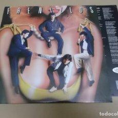 Discos de vinilo: LOS FRENILLOS (LP) FRENILLOS AÑO 1987 – HOJA CON LETRAS. Lote 164945462