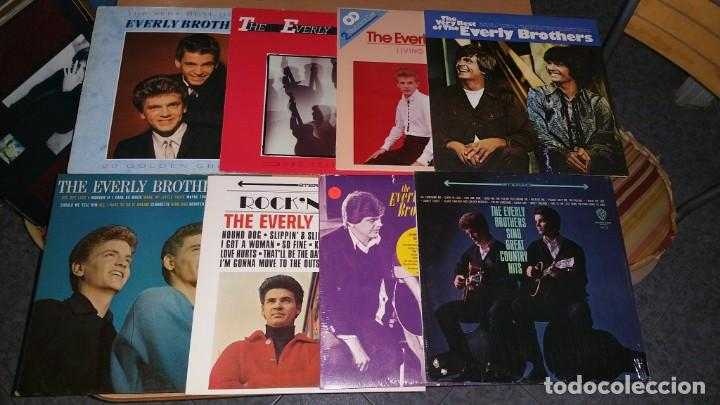 8 LP EVERLY BROTHERS (Música - Discos - LP Vinilo - Rock & Roll)