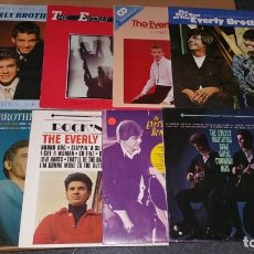 Discos de vinilo: 8 LP EVERLY BROTHERS. Lote 164953562
