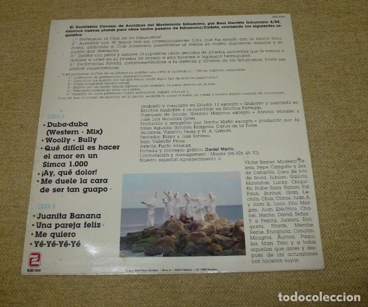 Discos de vinilo: Los Inhumanos ?– 30 Hombres Solos - Foto 2 - 164959602