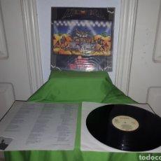 Discos de vinilo: HELLOWEEN LIVE IN THE U.K. EMI 1989. Lote 164962534