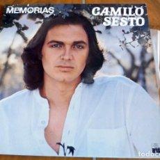 Discos de vinilo: LP - ARIOLA - CAMILO SESTO MEMORIAS. Lote 164970602