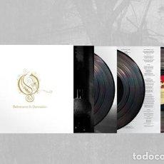 Discos de vinilo: OPETH DELIVERANCE & DAMNATION 3 LPS TRIPLE VINILO NUEVO. Lote 164972418